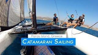 Paros: Extreme Catamaran Sailing