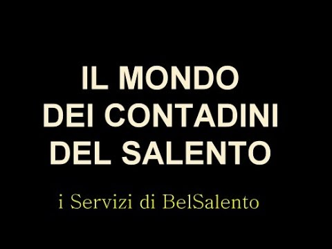 il Mondo dei Contadini del Salento - Veglie 2015, BelSalento intervista Michele Nicolaci