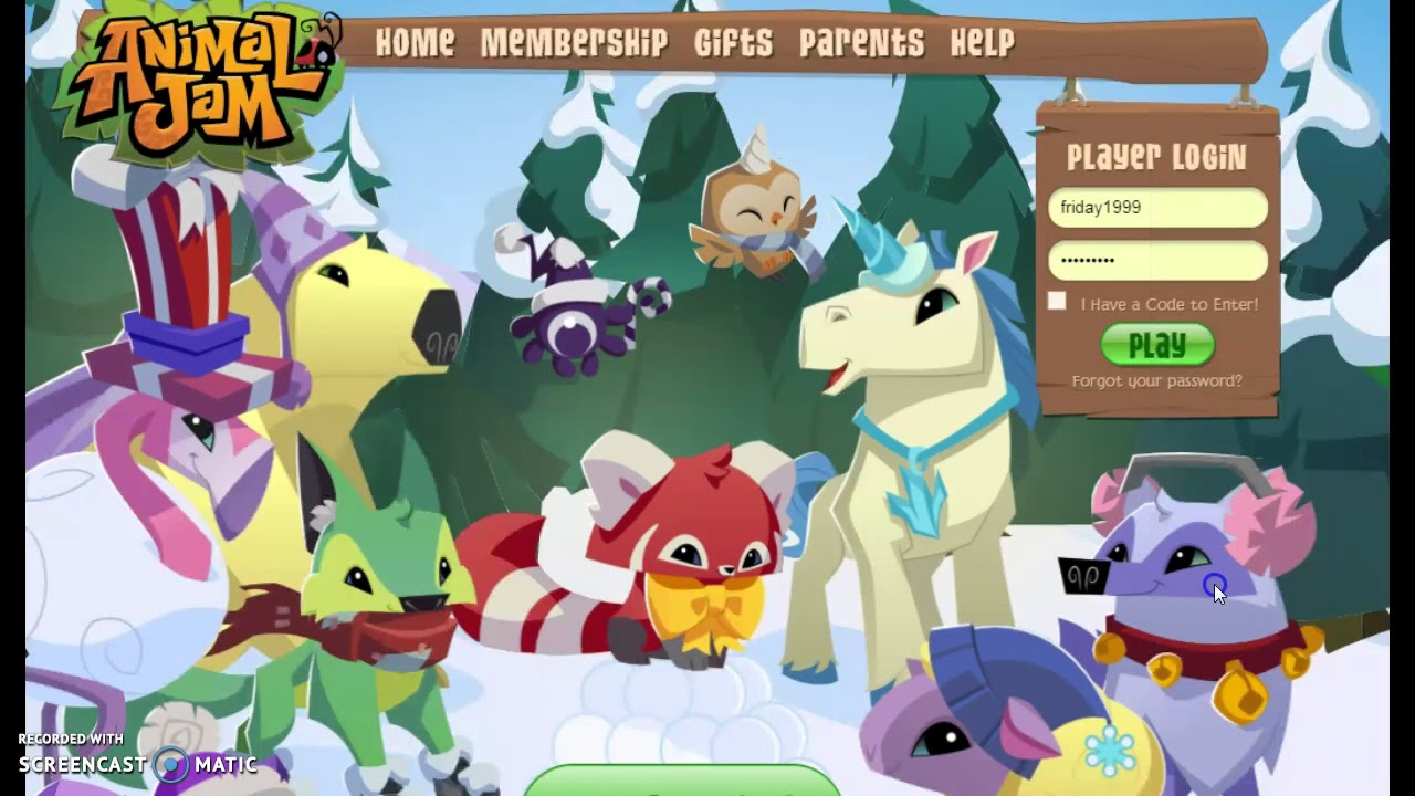 Animal Jam account giveaway!!! (CLOSED) - YouTube Gaming