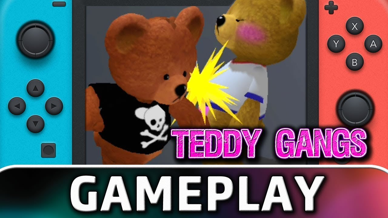 Teddy Gangs | 5 Minutes of Gamplay on Nintendo Switch