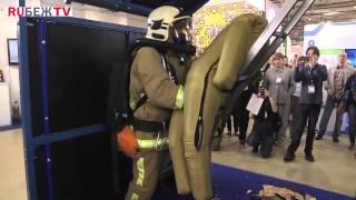Показательная тренировка звена спасения СПТ 27 отряда ФПС по г  Москве 1