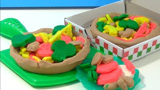 Unboxing Play Doh Pizza Party Set Review And Play Pretend Pizzas
