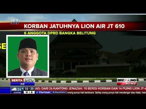 Daftar Nama 6 Anggota DPRD Babel Korban Lion Air