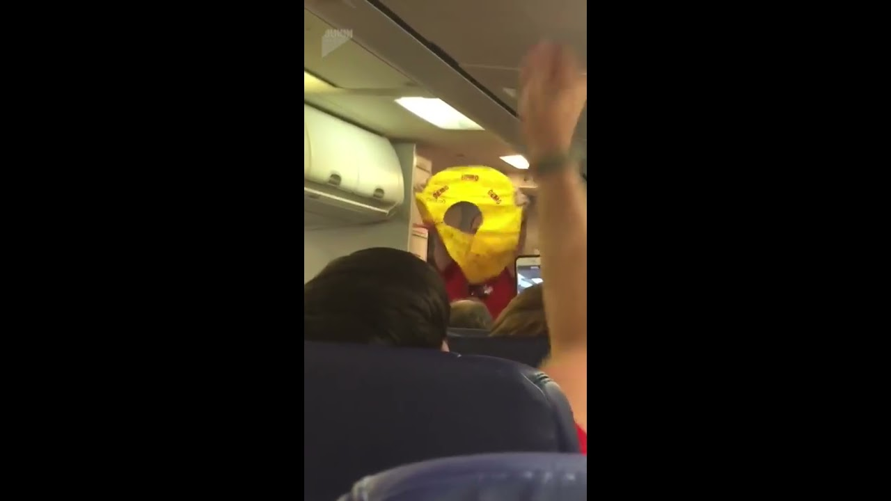 This Flight Attendant's Hilarious Life Vest Demonstration Will Make Your Day. A Southwest flight attendant's life vest demonstration before take-off had everyone on board laughing out loud.