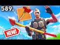 watch he video of ONLY ONE PLAYER HAS THIS PICKAXE IN GAME!! *NEW PICKAXE??* Fortnite Funny and Daily Moments Ep.589
