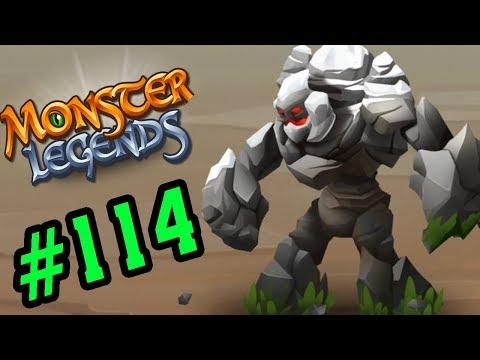 Monster Legends - NGƯỜI ĐÁ KHỔNG LỒ - Thế Giới Quái Vật #114