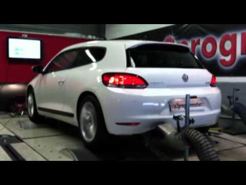 reprogrammation moteur vw scirocco 2012 2l tdicr 143 ch 190ch o2programmation test dyno youtube. Black Bedroom Furniture Sets. Home Design Ideas
