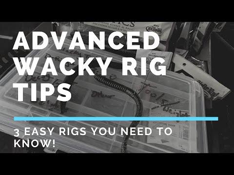 How To Catch Bass On A Wacky Rig/Neko Rig (Strike King Ocho, Senko, & Straight Worm) Fishing Tip