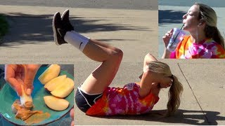 Workout Routine, Healthy Eating and Advice!