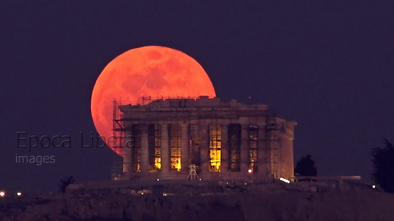 red moon tonight greece - photo #2