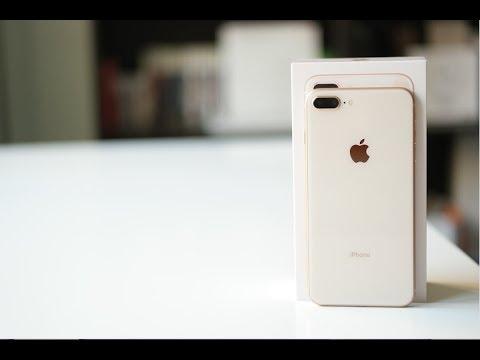 فتح علبة ايفون ٨ بلس الذهبي Unboxing Iphone 8 Plus Youtube