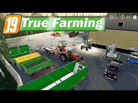 LS19 True Farming #97 - UMBAUARBEITEN beginnen! War das ein gutes Geschäft | Farming Simulator 19