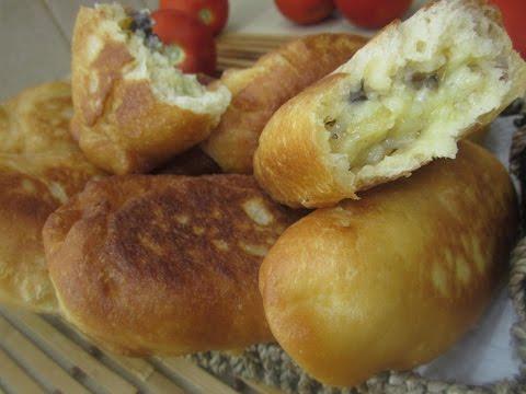 Рецепт- Пирожки жаренные с картошкой и грибами!