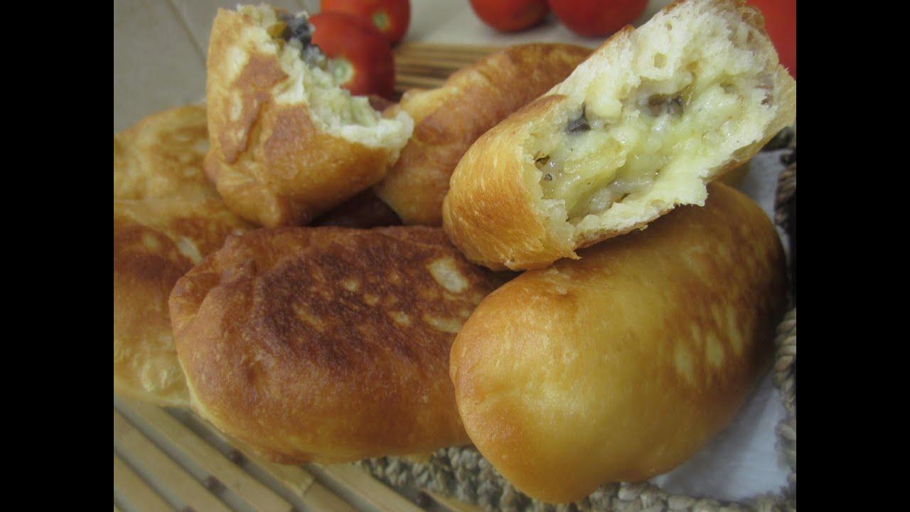 чебуреки с картошкой и грибами рецепт с фото