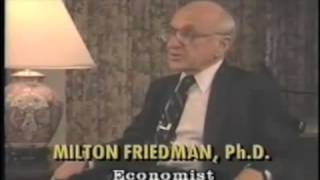Milton Friedman - Why Drugs Should Be Legalized (napisy PL)
