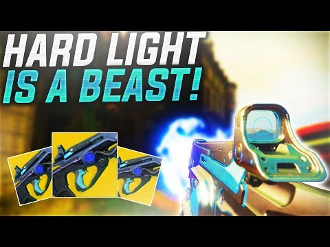 Destiny 2 - THE NEW HARD LIGHT! | DESTINY 2 INSANE EXOTIC! (Destiny 2 Live Crucible)