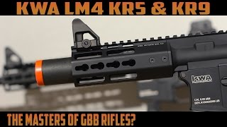 KWA LM4 KR5 & KR9 GBBR Review