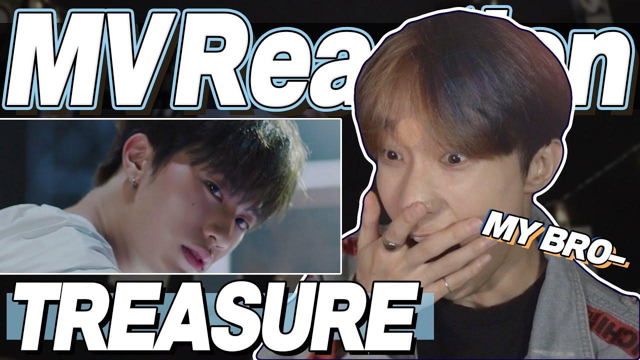 eng) TREASURE 'BOY' MV Reaction | 트레저 보이 뮤직비디오 리액션 | Fanboy Moments | J2N VLog