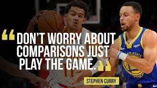 Warriors' Steph Curry on advice to NBA rookie Trae Young