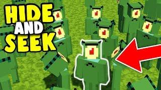 PLANKTON TROLL IN SPONGEBOB'S HAUS | Minecraft Hide and Seek