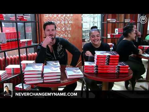 """Valentin Chmerkovskiy Book Signing & Interview 