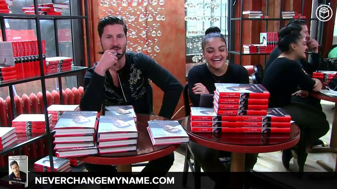 Valentin Chmerkovskiy Book Signing Amp Interview Ill