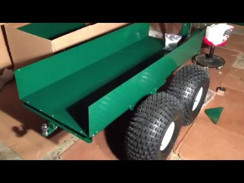 Ultimate ATV Trailer, Pt 4 Bed Assembly and Discussion