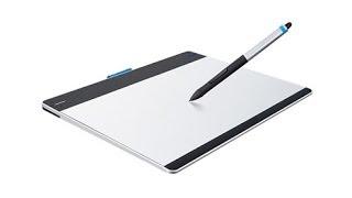 Графический планшет Wacom Intuos Pen & Touch(Графический планшет, позволяющий с особым удобством работать с графикой и фото, и заниматься компьютерным..., 2014-06-23T10:34:40.000Z)