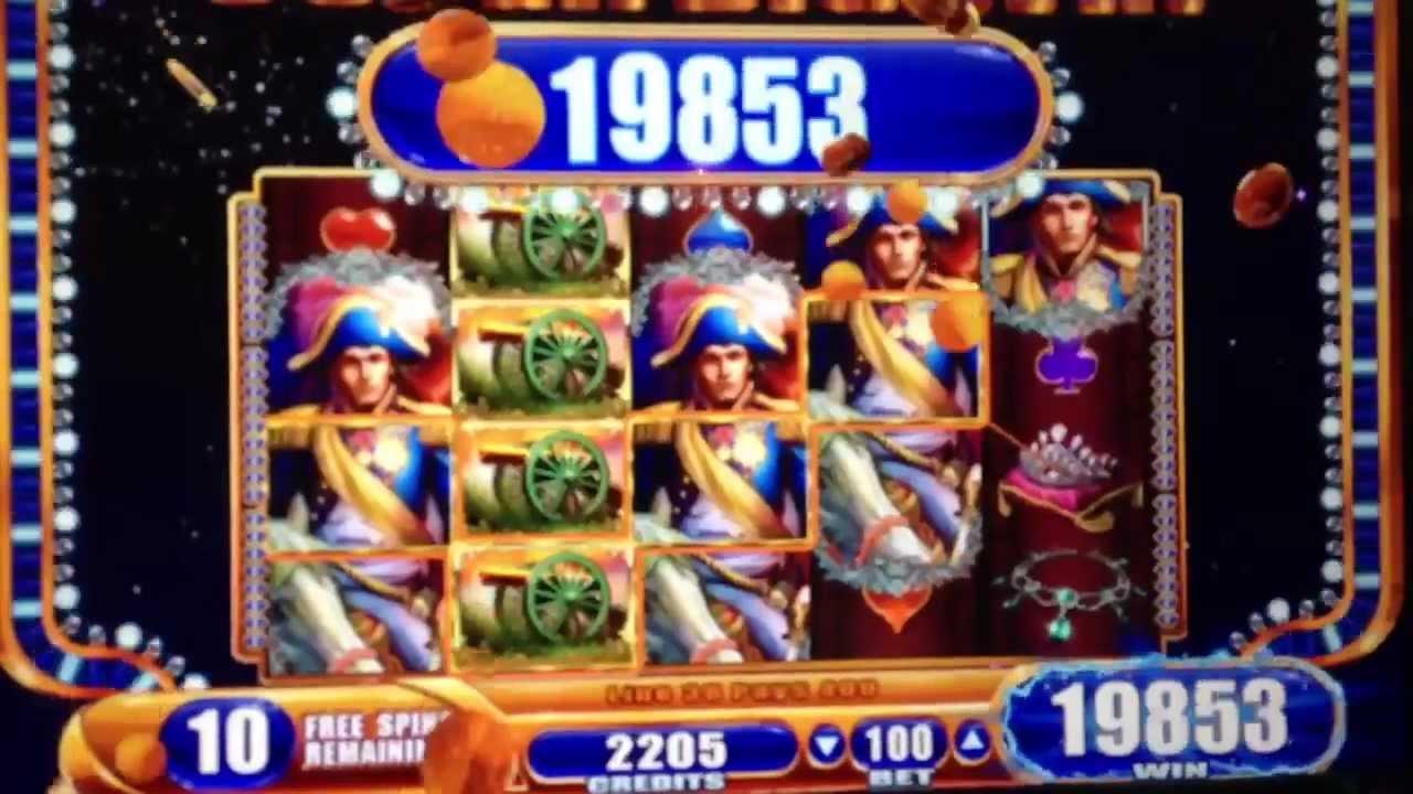 Napoleon and josephine slot game
