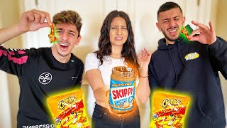 Trying WEIRD FOOD COMBINATIONS That People Love!!