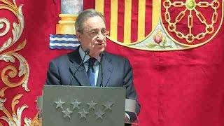 Florentino Pérez inicia su quinto mandato al frente del club