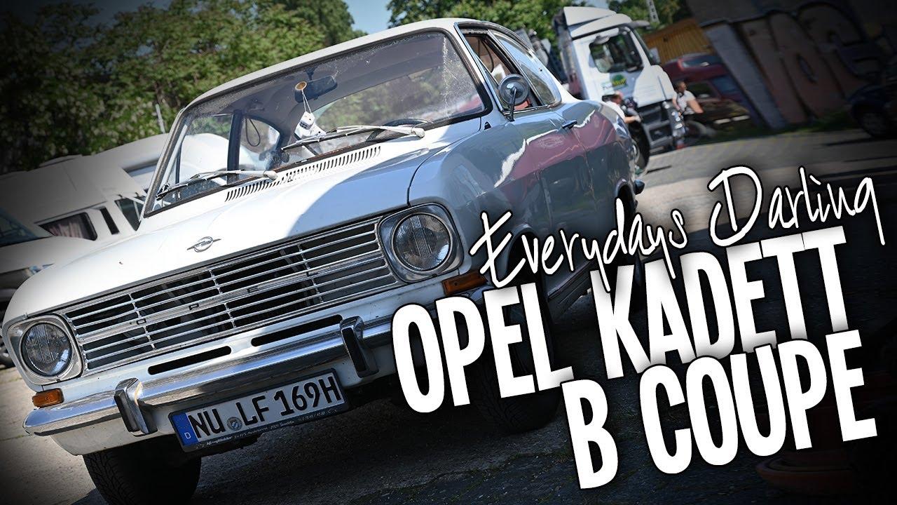 2021 ein Opel Kadett B Kiemencoupe Bj 1969 im Alltag fahren? Jeden Tag? ... Na klar!!!
