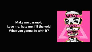 Bastille - WHAT YOU GONNA DO??? ft. Graham Coxon (Lyrics)