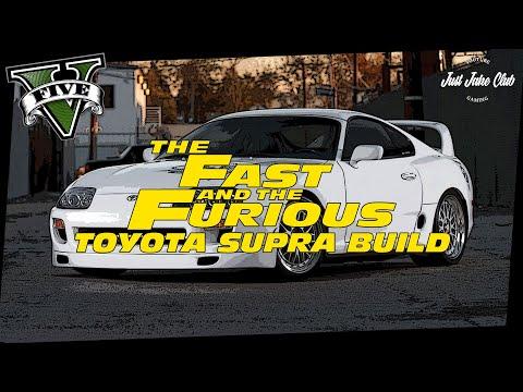 Fast & Furious 7 Toyota Supra Paul Walker Tribute Car Build Tutorial: GTA 5 (JESTER CLASSIC)