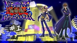 Let´s Play Yu-Gi-Oh Nightmare Troubadour [German] [Part 1] Der erste Schritt ist getan!