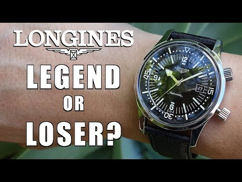 Most Versatile Diver Ever? Longines Legend Diver Automatic L3.674.4.50.0 - Perth WAtch #121