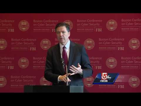 FBI Director Comey talks cyber security at BC