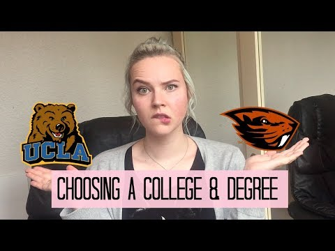Advice: Choosing Your College & Degree