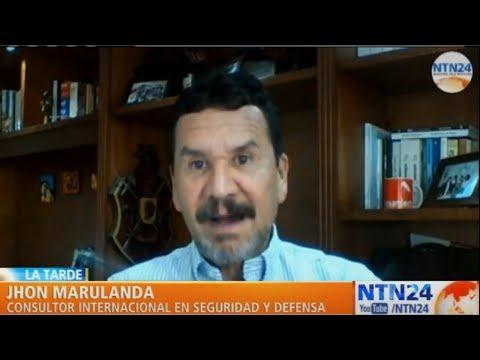 """""""Apuntaría la hipótesis a que el ELN está detrás del ataque terrorista en Bogotá"""": Jhon Marulanda"""