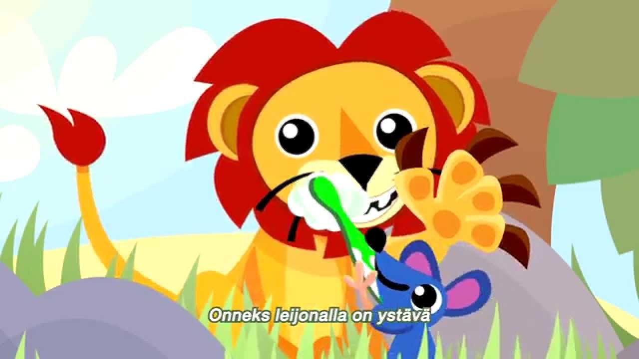 Jordan - Leijona ja ystävät hammaspesulla