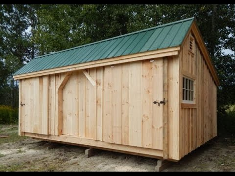 Three Sled Shed Snowmobile storage shed Vermont Post and Beam
