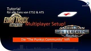 [Tutorial] [schon gewusst] Multiplayer Setup ETS2 & ATS