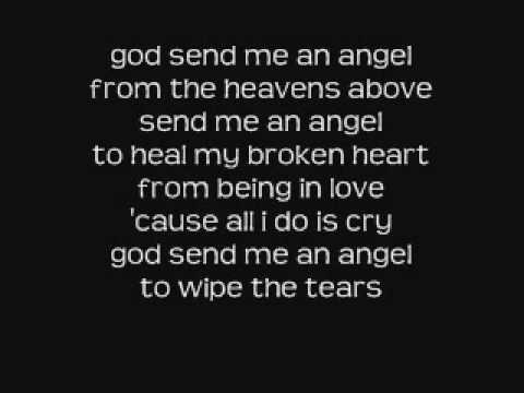 amanda perez - god send me an angel lyrics