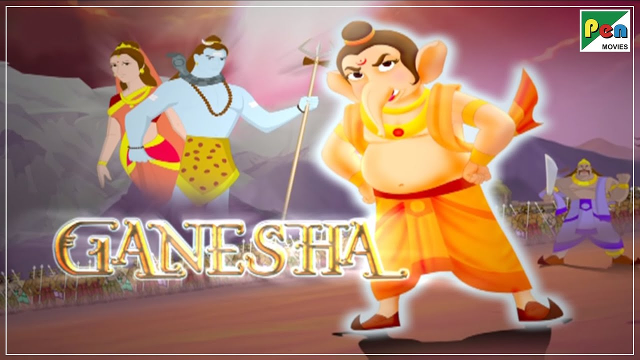Download Ganesha Animated Movie With English Subtitles | HD 1080p | Animated Movies For Kids In Hindi