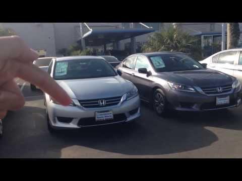 2013 2014 Honda accord LX comparison changes