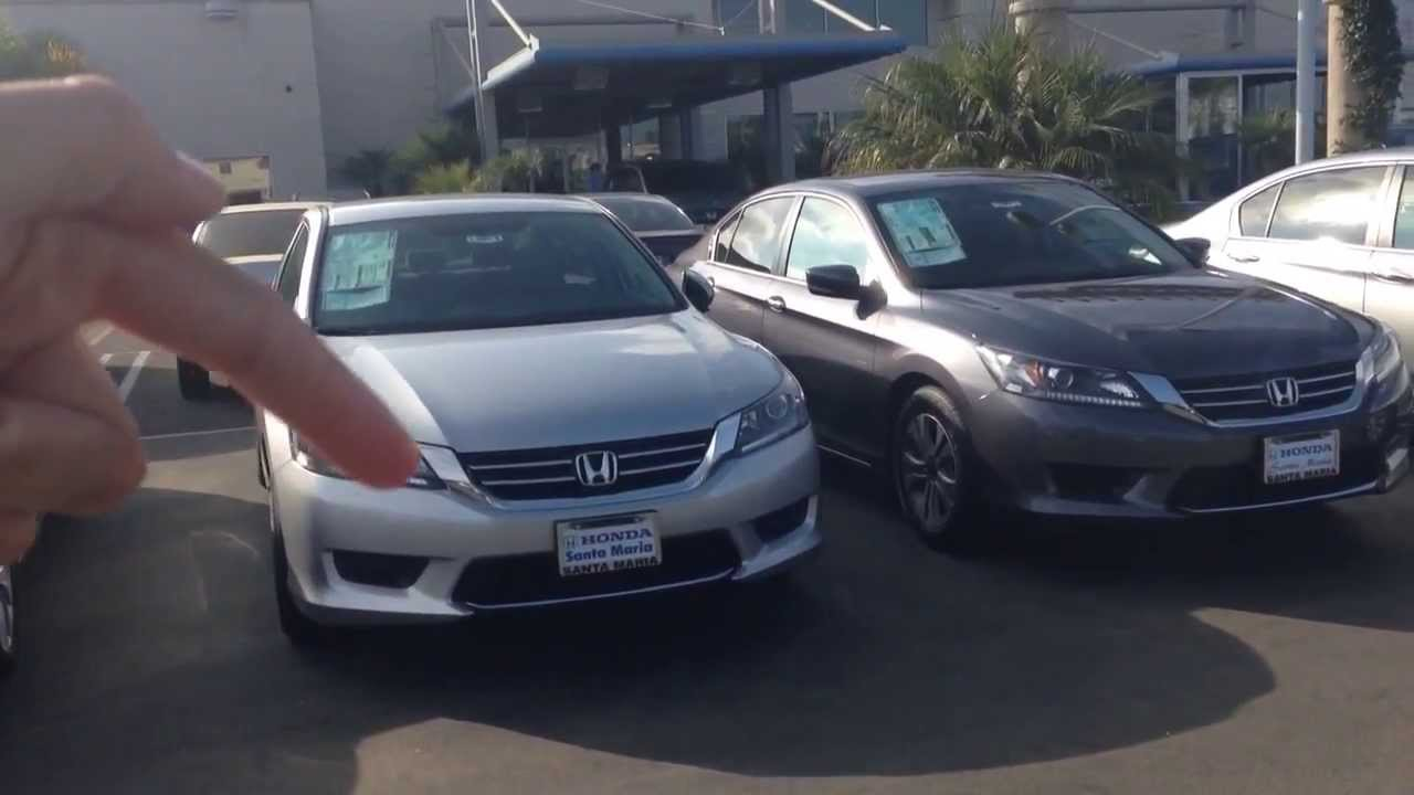 2013 2014 honda accord lx comparison changes youtube. Black Bedroom Furniture Sets. Home Design Ideas