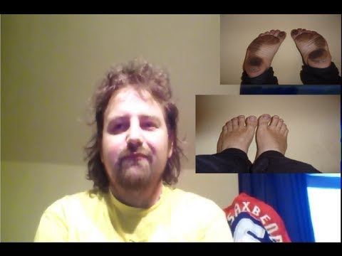 Barefoot Discussions - Part 5: Bare Feet At Work In The Office