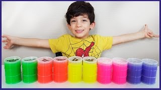 Jason Plays with Slime Buckets