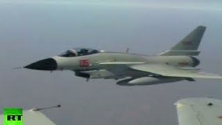 China Navy drills: Jets live fire at targets in East China Sea