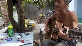 Hát nữa đi em-guitar cover bác Cẩm với bác Nhẹ (nhà bác Ánh Phan Rang)